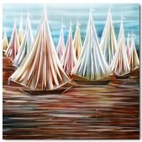 Malerei Aluminium Armada 80x80cm