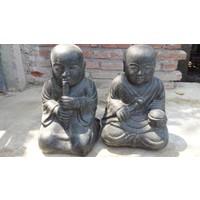 Monk children twins buddhist