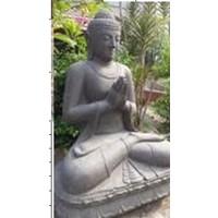 Boeddha op lotus extra groot