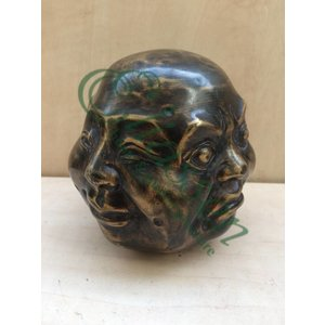 Eliassen Bronze-Skulptur 4 Faces