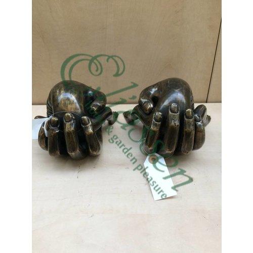 Eliassen Bronzen beeld Set Handen