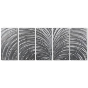 Painting aluminum five-panel Expansion 60x150cm