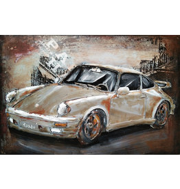Eliassen Metallmalerei Porsche2 60x40cm