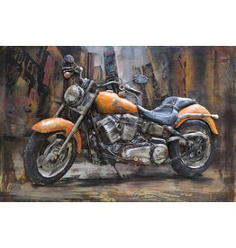 Eliassen Metalen 3d schilderij Harley 3 120x80cm