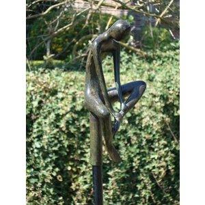 Eliassen Bronzen tuinsteker Man