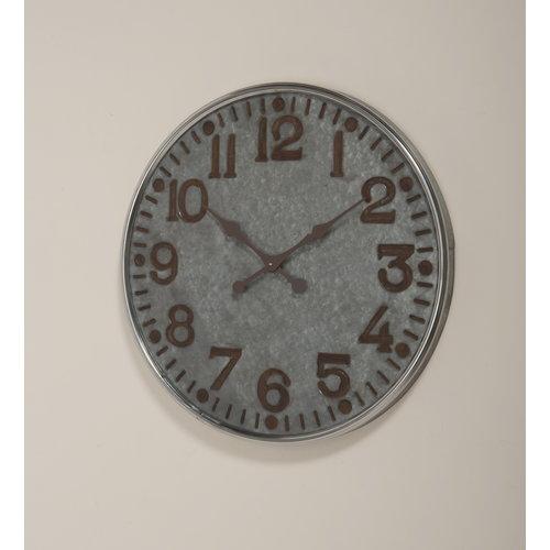 Eliassen Wall clock large Zinc Romike 74 cm