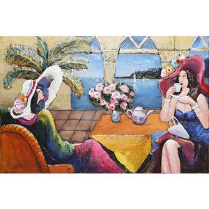Eliassen Grote 3D schilderij metaal Saint Tropez 160x105cm