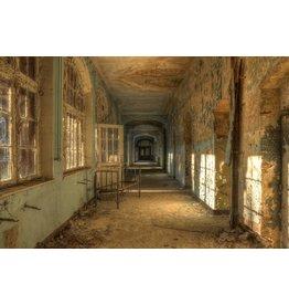 Ter Halle Glasmalerei Altes Krankenhaus 100x150cm