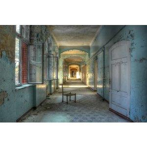 Ter Halle Glasmalerei Landhaus 98x148cm
