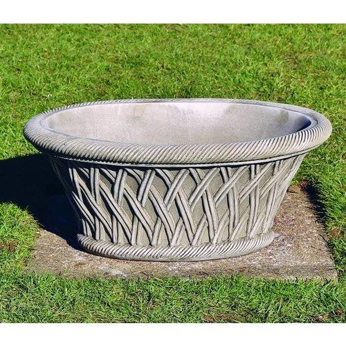 Dragonstone Pot Oval Basket
