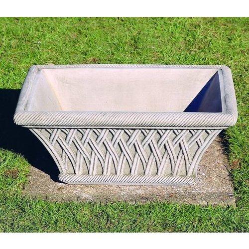 Dragonstone Pot Rectanggular Basket