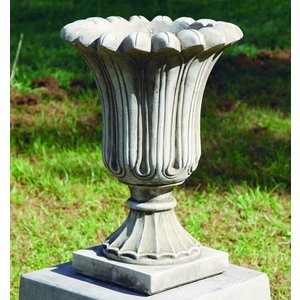 Dragonstone Garden Vase Small Fluted