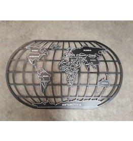 Eliassen Wanddekoration Globe 150x87cm