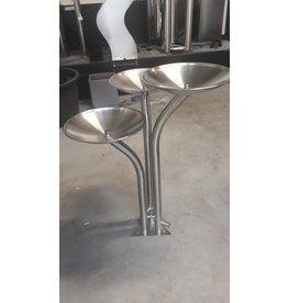 Eliassen Water column set Stainless steel Tripo 70cm