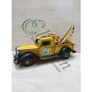 Miniatur-Abschleppwagen-Modell