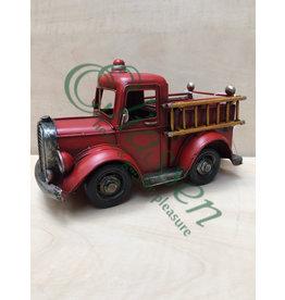 Miniature fire brigade model