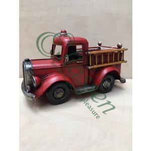 Miniatuur model brandweer