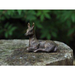 Eliassen Bronze figurine small deer