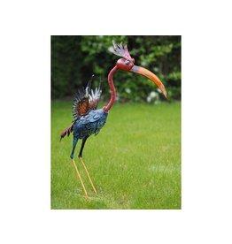 Eliassen Funny colorful bird in 3 sizes