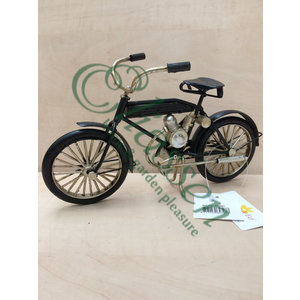 Miniatuur model oldtime motor