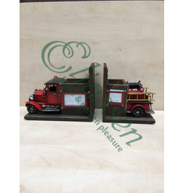 Miniature model bookend Fire Department