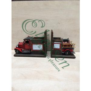 Miniaturmodell Buchstütze Feuerwehr