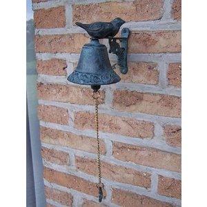 Eliassen Bronze bell with birds
