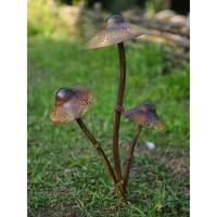 Gartenstab Pilz 3 Stück