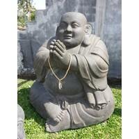 Beeld monnik extra groot boeddistisch