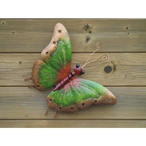Eliassen Butterfly 38cm metal green