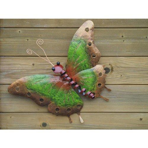 Eliassen Butterfly 49cm metal green