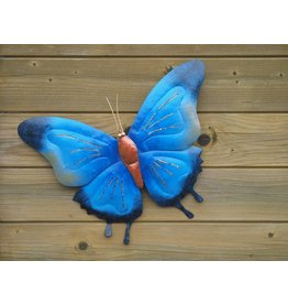 Eliassen Butterfly 45cm metal blue