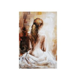 Eliassen Oil painting Naked woman 80x120cm