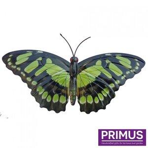 Metalen groene vlinder