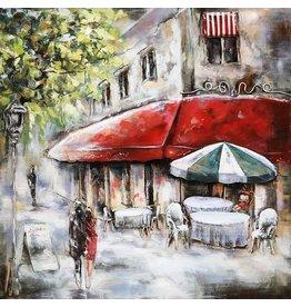 Eliassen 3D painting 60x60cm Terrace2