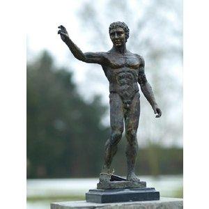 Eliassen Bronze nackter Mann