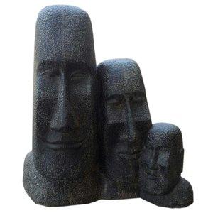 Triple moai beelden