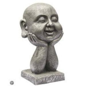 Eliassen Buddha Kopf auf die Hände