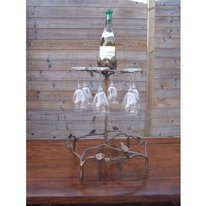 Eliassen Bronze wine glass rack