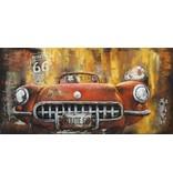 Eliassen 3d schilderij Sportscar 60x120cm