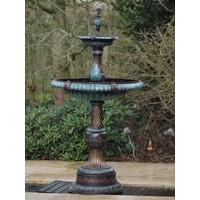 Fountain bronze 2-scale fountain