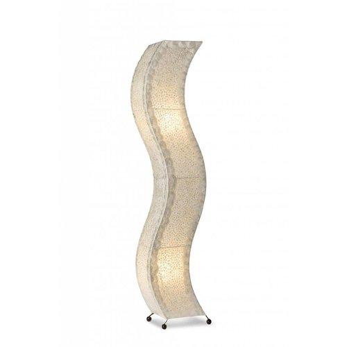Eliassen Houten floor lamp