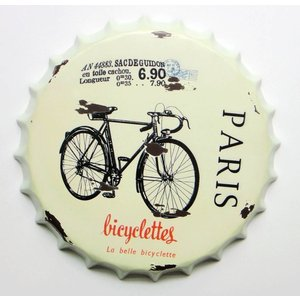 Eliassen Beer cap wall decoration Bicyclettes
