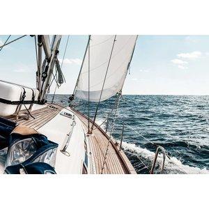 Eliassen Glas-schilderij 80x120cm Sailing