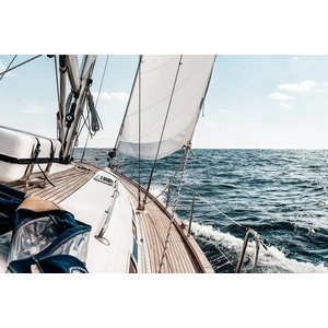 Eliassen Glass-painting 80x120cm Sailing