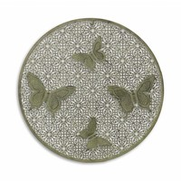 Wall decoration around with 4 butterflies
