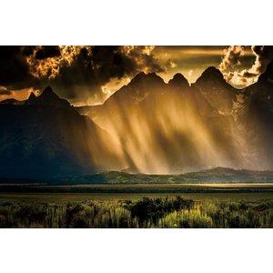 Eliassen Photo on glass painting 80x120cm Storm
