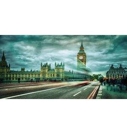 Eliassen Photo on glass painting 80x160cm London