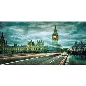 Eliassen Foto auf Glasmalerei 80x160cm London