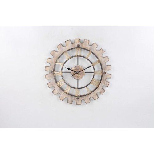 Eliassen Wall clock around Cogwheel 60cm